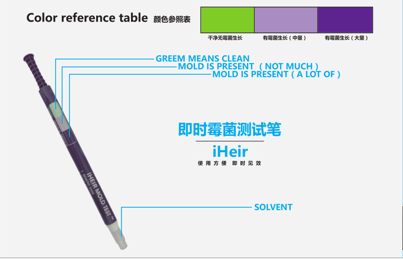 即时霉菌测试笔3